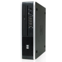 Refurbished HP Compaq 8000 Elite Ultra-Slim Desktop computer windows 10 Dual core 4gb