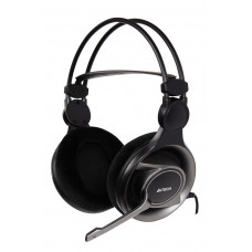 A4Tech HS-100 Stereo Gaming Headset With Built in Mic | PC VOIP SKYPE 3.5mm
