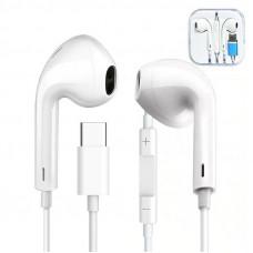 Type C USB-C Earphones Stereo Headphones