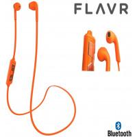 Flavr Wireless bluetooth BT Stereo Headset - Orange