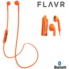 Flavr Wireless bluetooth BT Stereo Headset - Orange