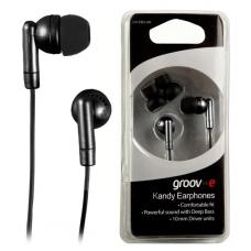 Groov-e Kandy Earphones + Earbuds