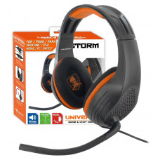 Subsonic X-Storm Universal Game & Chat Headset For Playstation 4 PS4 / Xbox One & PC Nintendo Switch - With Microphone -