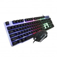 Jedel GK100 RGB LED Gaming Keyboard And 4D Mouse Set