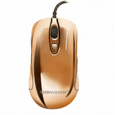 USED Sumvision Plasma Gaming Mouse Golden 6 Color LED USB Wired