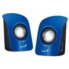 Genius SP-U115 Blue USB Powered PC 2.0 Speakers
