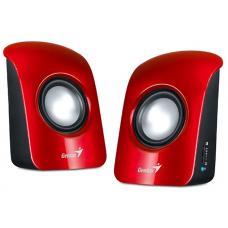 Genius SP-U115 Red USB Powered PC 2.0 Speakers
