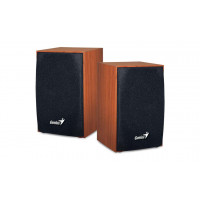 Genius SP-HF160 Wooden USB Powered PC 2.0 Speakers Wood