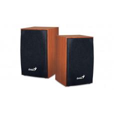 Genius SP-HF160 Wooden USB Powered PC 2.0 Speakers Wood