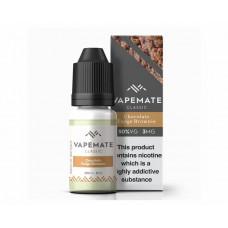 Chocolate Fudge Brownie NICOTINE FREE Vapemate classic E liquid 0mg 10ml