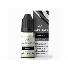 Black Jack Vapemate classic E liquid 6mg 10ml