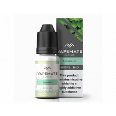Spearmint NICOTINE FREE Vapemate classic E liquid 0mg 10ml
