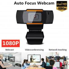 HD 1080P Webcam Autofocus Web Camera Cam With Microphone For PC Laptop Desktop